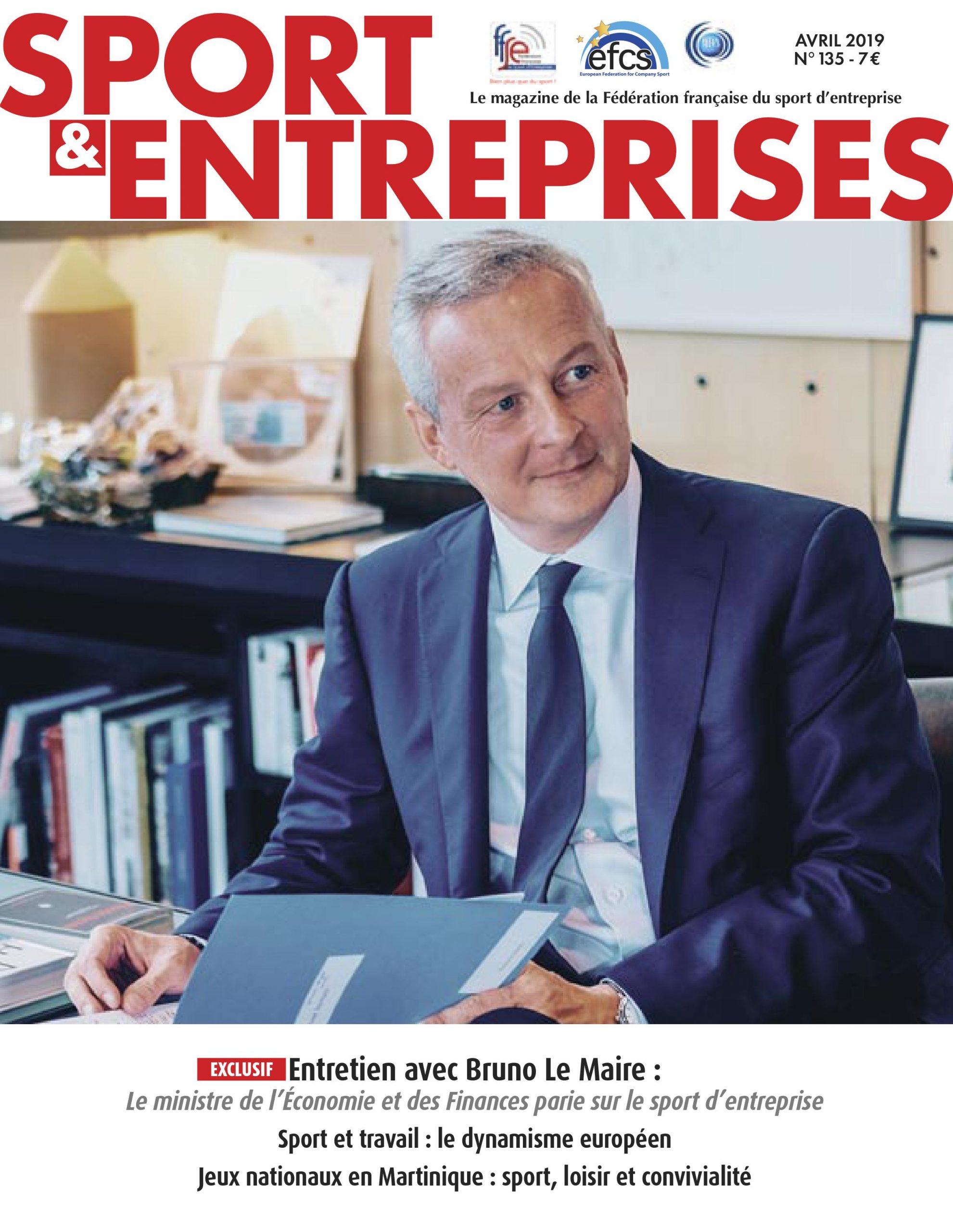 Magazine Sport Entreprise numero 135
