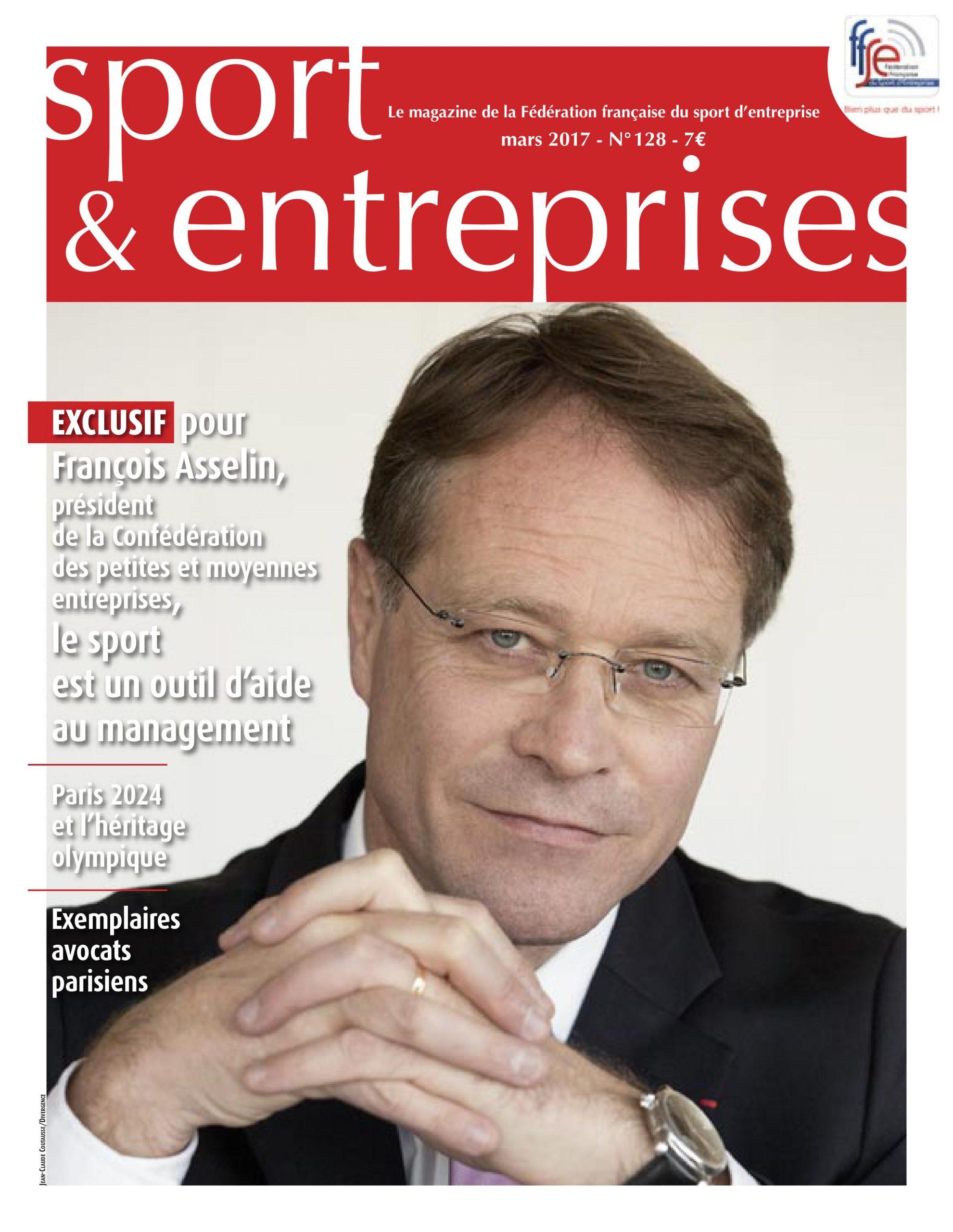 Magazine Sport Entreprise numero 128